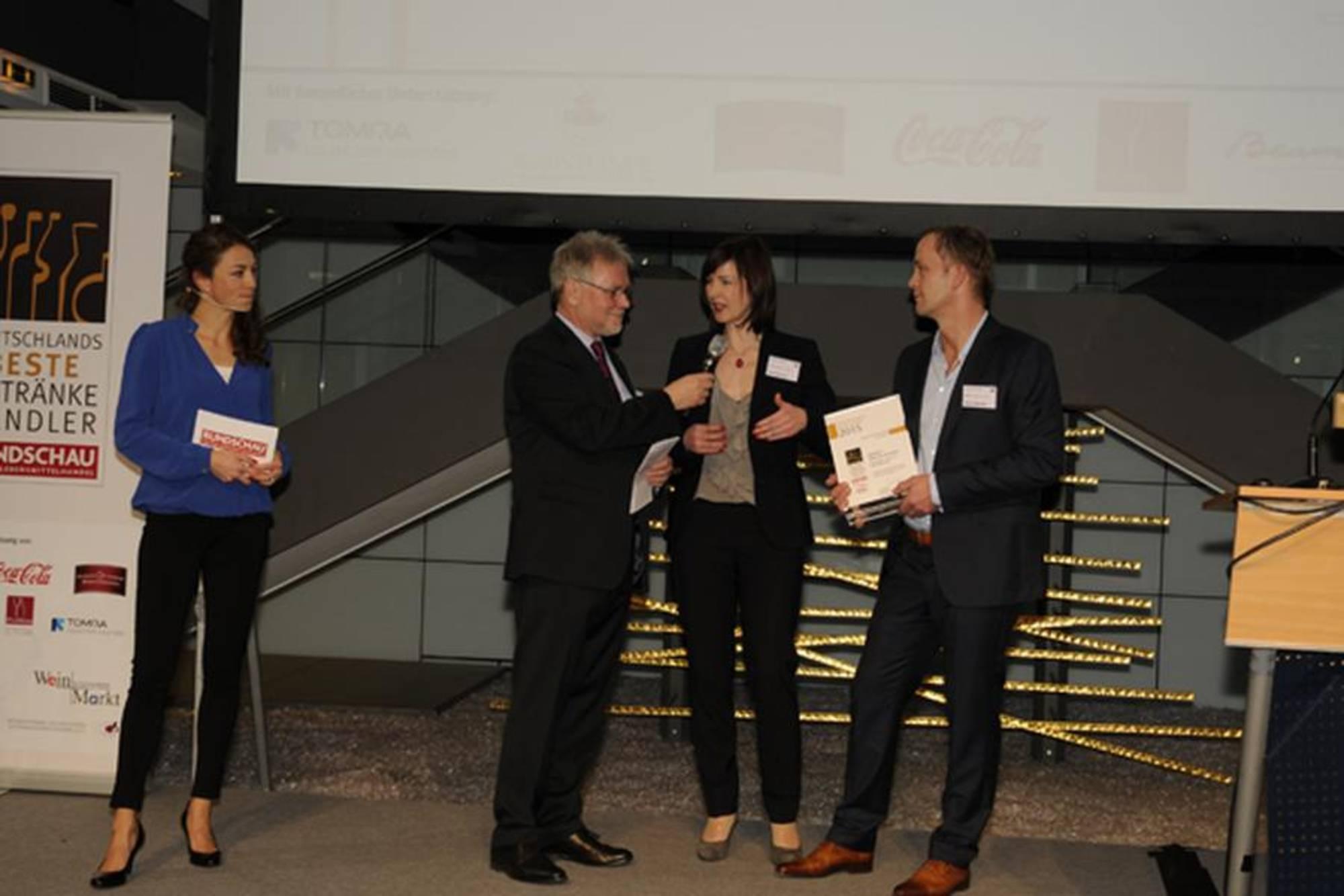 Deutschlands beste Getränkehändler - Gewinner 2015: rundschau.de